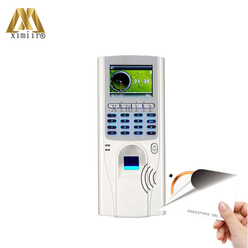 цены ZK XM33 Biometric Fingerprint Access Control With 125KHZ RFID Card Reader TCP/IP Fingerprint And Time Attendance Free Shipping