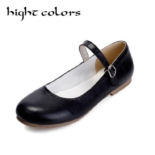 b6e78862c16123 2019 printemps femmes Ballerines doux confortable Lolita mocassins chaussures  grande taille chaussures pour femmes sans lacet