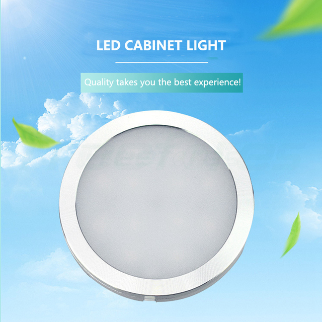 2.5W DC12V Mini Cabinet Light Led Ceiling Downlight Drinks Cabinet Lamp Surface-mounted Low Voltage Spot Light