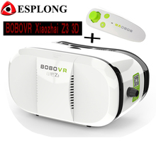 BOBOVR Z3 Xiaozhai VR Glasses Virtual Reality Google Cardboard 3D VR Helmet Box for Iphone 6 Samsung S6+Bluetooth Mouse Gamepad