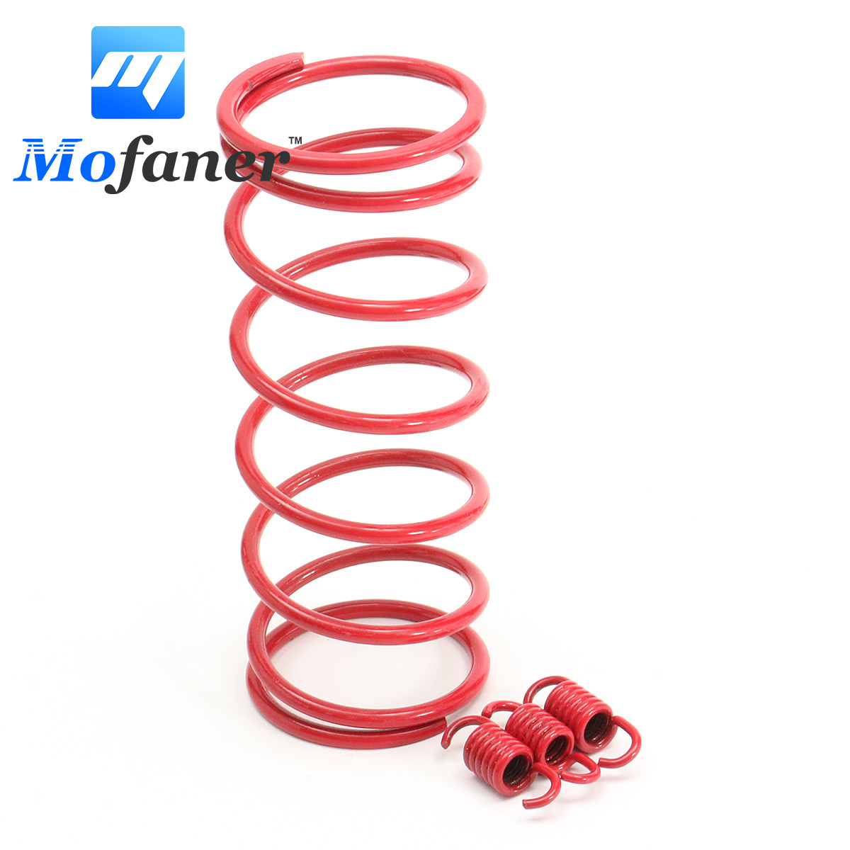 Red 2000 RPM Performance Tourque Clutch Springs for GY6 152QMI /157QMJ engine GY6 125cc/150cc Chinese scooters ATV nibbi engine upgrade parts cylinder 58 5mm 6 2mm camshaft for gy6 scooter 150cc 125cc 152qmi 157qmj