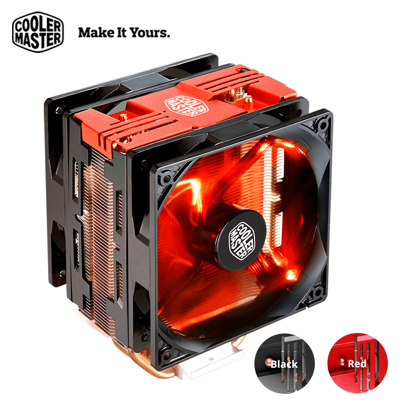 Cooler Master T400 Pro Computer CPU Cooler Dual 120mm fans LGA 2011 1150 1151 AMD AM4 Quiet Desktop PC CPU cooling radiator fan