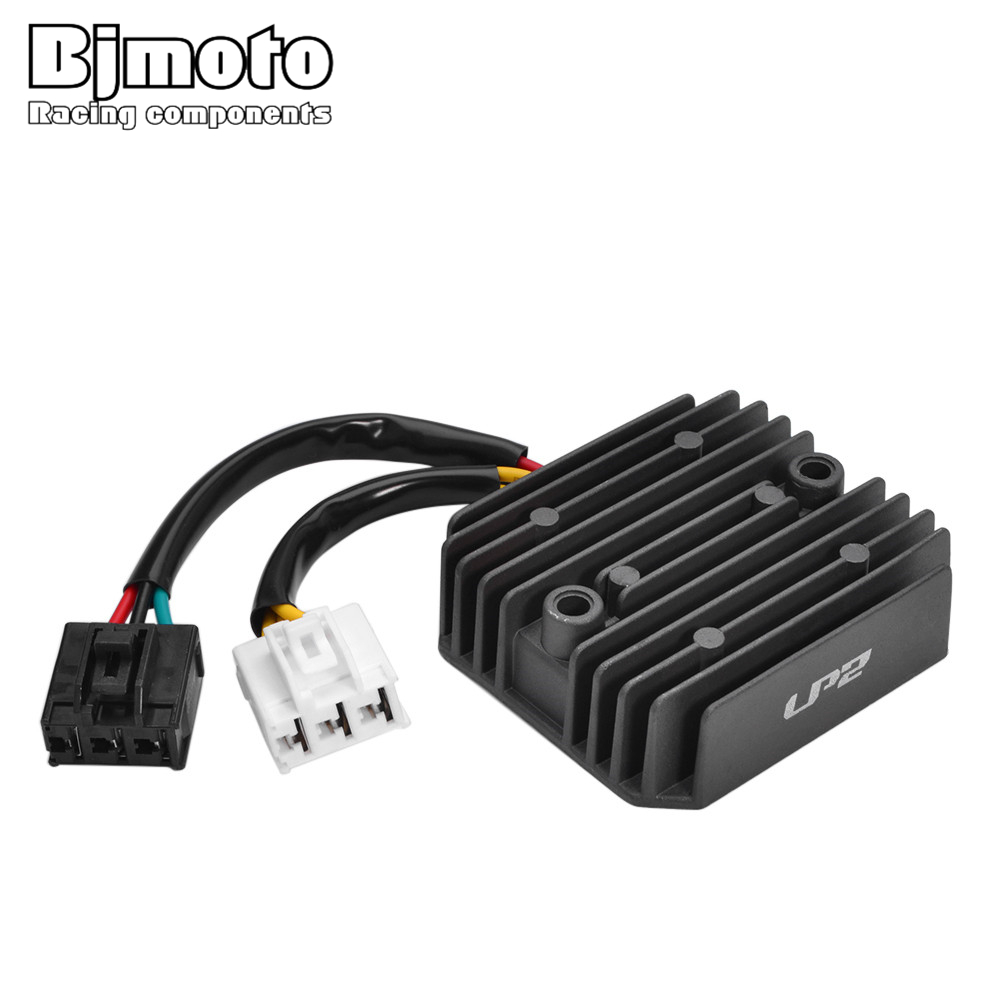 BJMOTO Motorcycle Voltage Regulator Rectifier For <font><b>Honda</b></font> <font><b>SH125</b></font> 2005-2009 SH150 2009-2012 UH125D 2009 PES125 PS125 PS150 2006-2009 image
