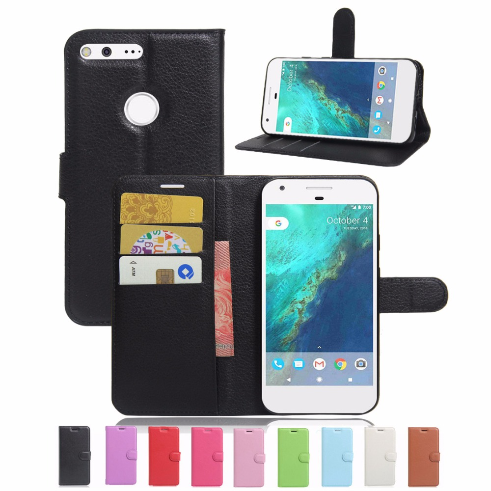 Wallet Flip PU Leather Phone Case Cover For LG Google NEXUS 5 6 6P Pixel XL With Card Holder Phone Cases