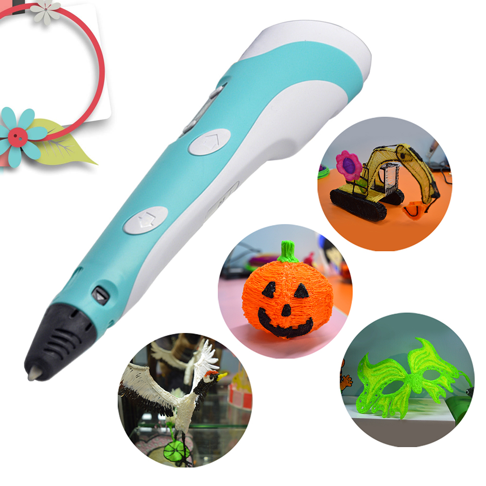 3D Pen With Adjustable Speed Temperature And LED Display for Kids Toy Gifts