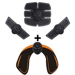 Унисекс EMS бедра тренер электрический стимулятор мышц беспроводной ягодицы брюшной ABS фитнес массажер для коррекции фигуры