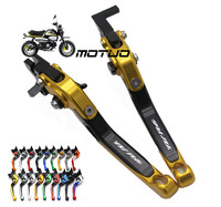 For YAMAHA R6S CANADA VERSION 2007 2008 2009 Motorcycle Accessories Folding Extendable Brake Clutch Levers LOGO R6