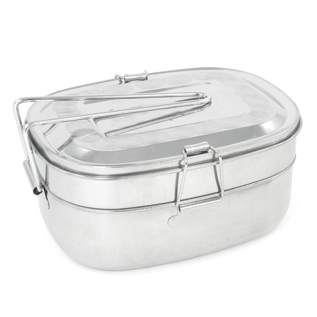 2017 Hot StyleDetachable Handle 2 Layers Stainless Steel Lunch Box 2.9