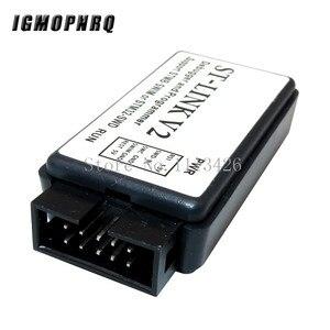 1 шт. ST-LINK V2 ST-LINK STM8 STM32 программист Эмулятор отладчик горелки