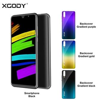 Перейти на Алиэкспресс и купить XGODY P30 мобильный телефон с 6-дюймовым дисплеем, четырёхъядерным процессором MT6580M, ОЗУ 2 Гб, ПЗУ 16 Гб, 3G, 2-мя слотами для sim-карт, 5 МП, 2800 мАч, GPS