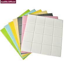 3d geometric pattern book soft pack wall stickers study room dining bedroom waterproof anti-collision foam