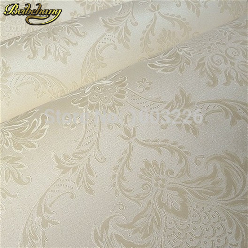 цены  beibehang papel de parede 3d wallpaper for walls 3D Pattern Damask Wall paper Roll Wallcovering papier peint papel parede mural