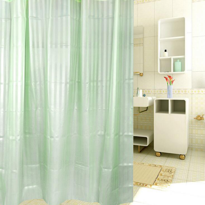 2015 thick waterproof PEVA shower curtain Bathroom Tools