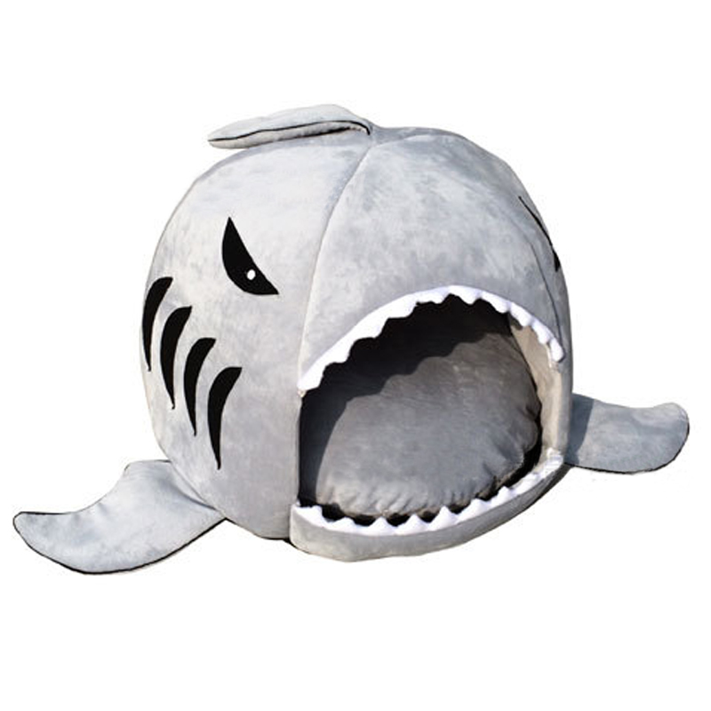 Aliexpress.com : Buy House Pet Dog Warm Soft Sleeping Bag Bed Shark Dog  Kennel Cat Bed Cave Cushion Pillow Cute Nest Mat Pet Accessories From  Reliable Pet ...