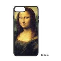 Da Vinci Mona Lisa Smile Pittura A Olio Famosa Grande Maestro D'arte Wor Copertura Cassa Del Telefono per il iphone X 7/8 Plus Casi Phonecase