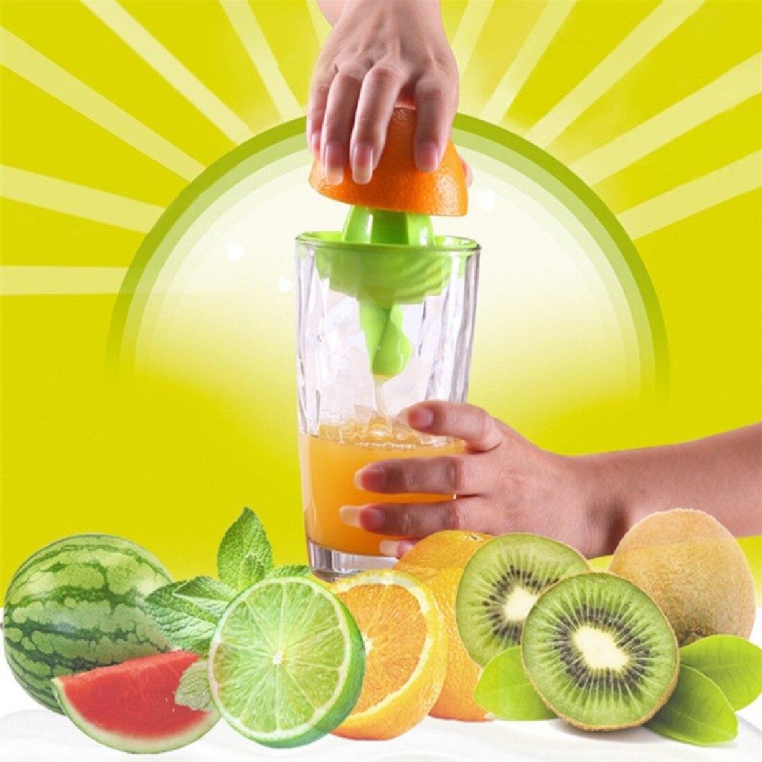 Cuisine Bar manuel en acier inoxydable citron orange Lime Squeezer Juicer Batterie de cuisine /à la main Presse Outil de jus frais