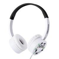 Oneodio New Arrival Kids Headphones Cute Cartoon Panda Headband Lightweight Durable Fone De Ouvido 3 5mm