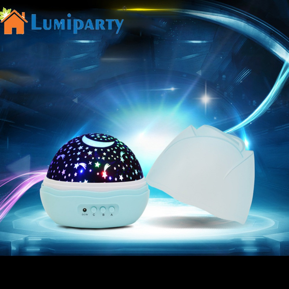 AKDSteel Romantic Night Light LED Sky Projection Lamp Moon Lamp LED Starry Projector Gift Decoration Night Light
