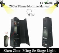 200W S Corner Stage Flame Machine Spray Fire Machine Dmx Flame Projectors Stage Equipment DMX Fire