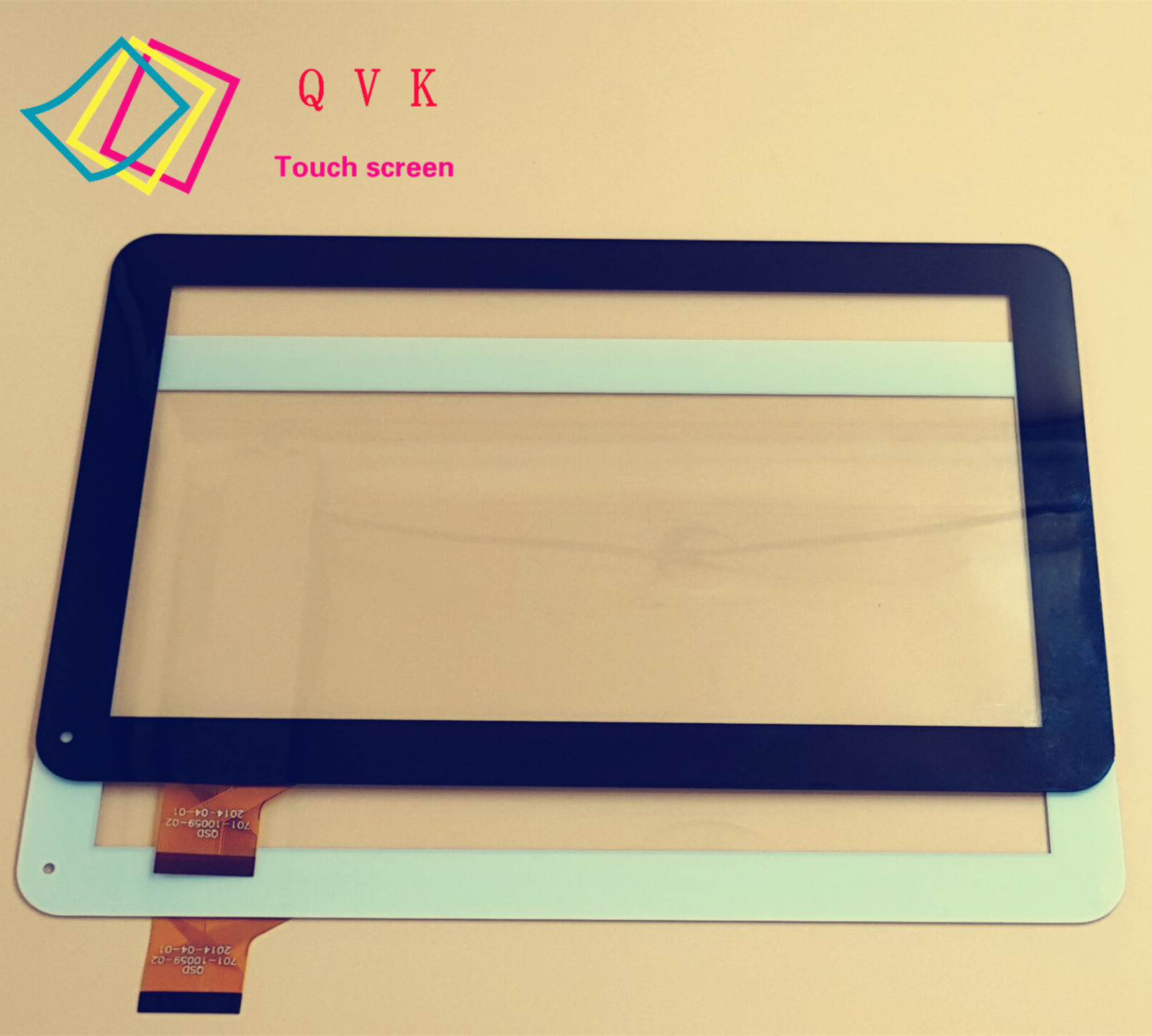 2 pcs black white 10 1 inch touch replacement tablet touch panel touch screen digitizer glass