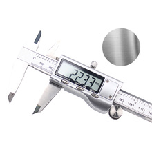 "High Quality Digital Calipers Stainless Steel Electronic Digital Vernier Caliper Micrometer Guage LCD 6"" 0-150mm With Hard Carry"