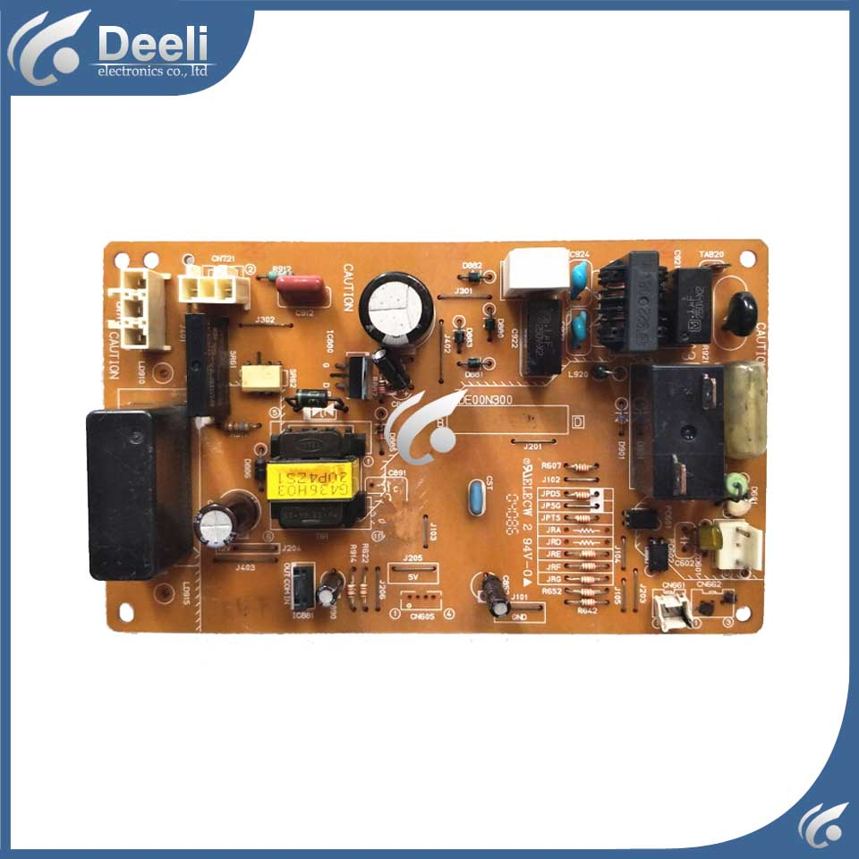 95% new for air conditioning computer board MSH-J12TV DE00N300 SE76A895G01  outside control board on sale wire universal board computer board six lines 0040400256 0040400257 used disassemble