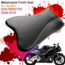 For Suzuki GSXR600/750 K6 2008-2010 Front Seat Cover Cushion Leather Pillow GSXR600 GSXR750 08 10 Motorcycle Rider Driver