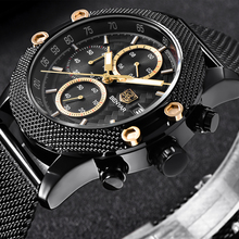 BENYAR Fashion Chronograph Sport Mens Watches Top Brand Luxu