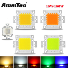 1W 3W 10W 20W 30W 50W 100W High Power LED light COB Led Chips For Floodlight Lamp Led Spotlight White / Red / Green / Blue / RGB