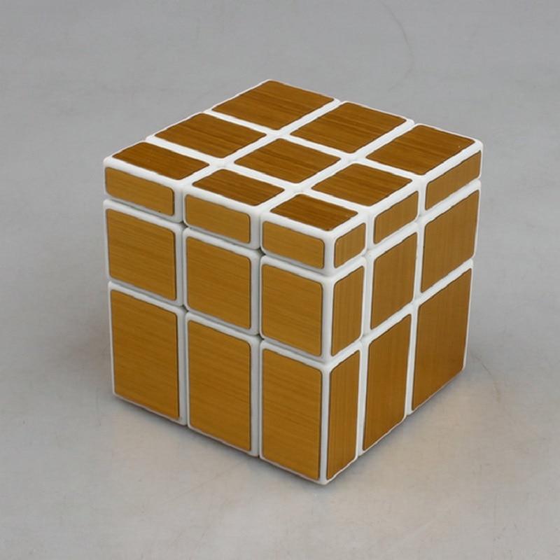 Juguete Rompecabezas Educativo De Espejo Recubierto 57mm Cubo Bloques Fundido 3x3x3 Shengshou HYW9I2ED