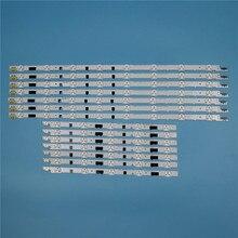832mm 14 Piece/Set LED Array Bars For Samsung UA40F6300AR UA40F6400AJ 40 inches TV Backlight Strip Light Matrix Lamps Bands