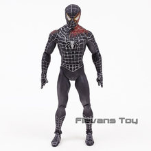 "Diamond Select Marvel Preto Terno Spiderman 7 ""Loose Action Figure Toy(China)"