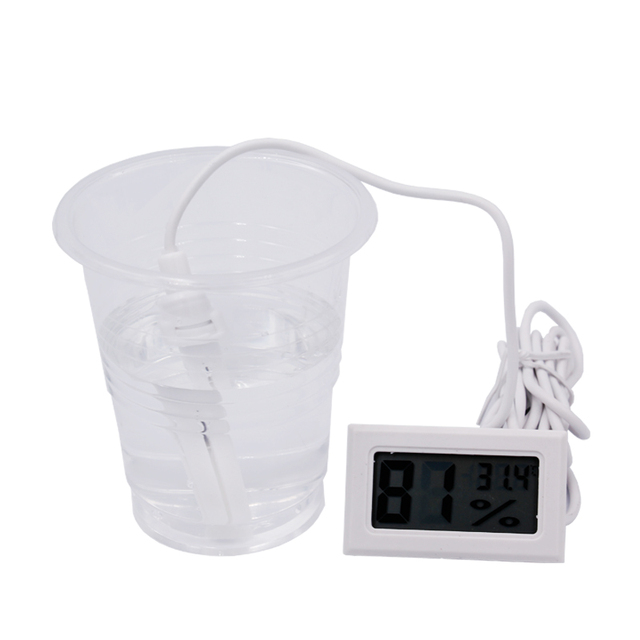 Temperature Humidity Meter -50~70C 10%~99%RH 10% off  New LCD Digital Thermometer Hygrometer