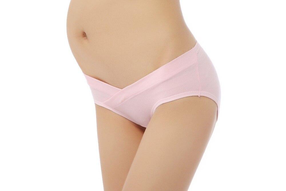 Maternity briefs Pure cotton enjoy Low waisted Type U Abdominal No trace Maternal shorts Sexy lady underwear 8160 in women 39 s panties from Underwear amp Sleepwears