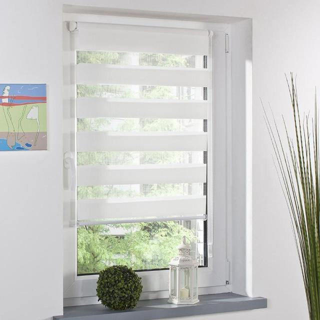 Express Shipping Included Curtain New Arrival Thickening Roller Blind Shutter Half Shade Blinds Custom Zebra