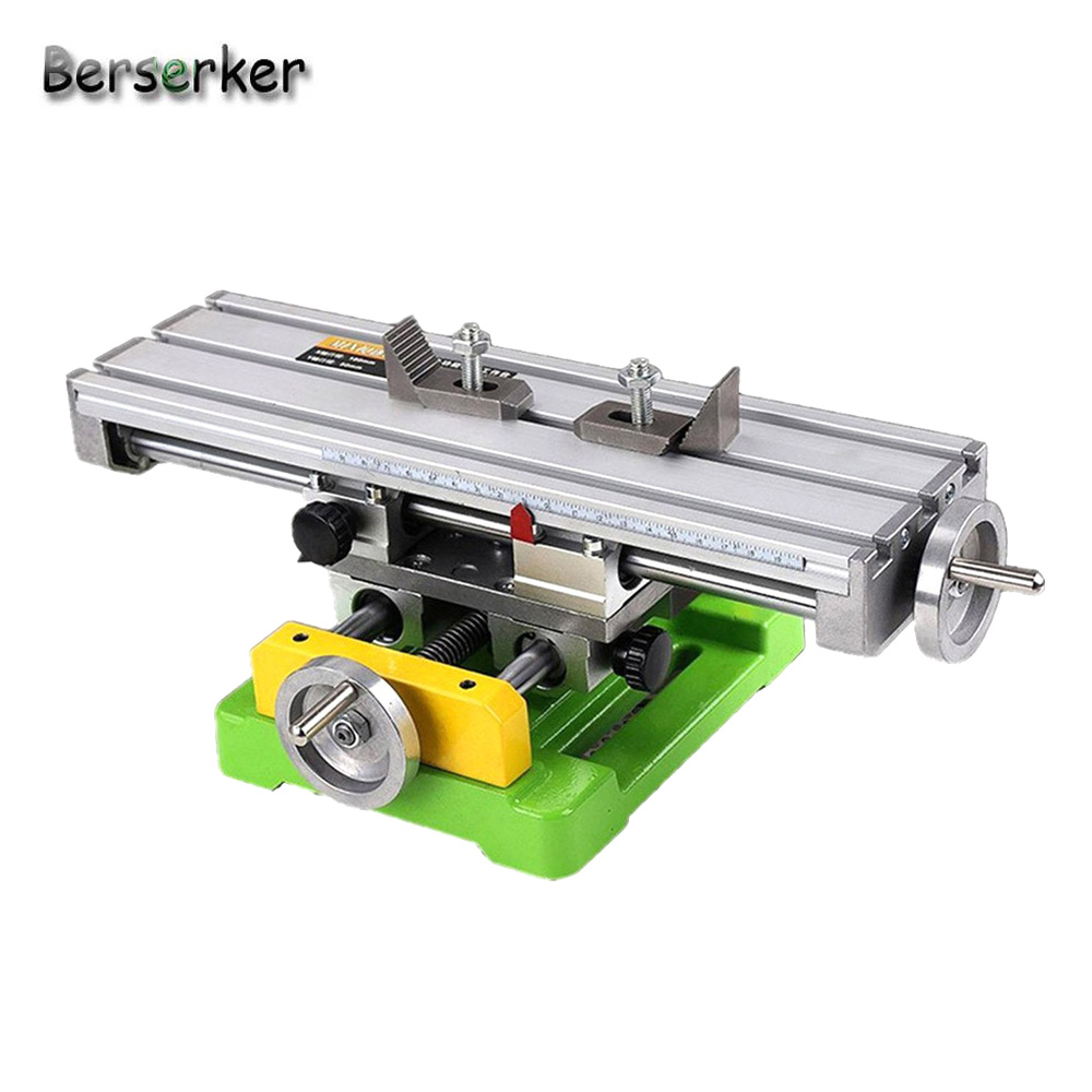 Berserker Compound Slide Table Milling Working Cross Worktable For Milling Machine Compound Drilling For Bench Drill 6350