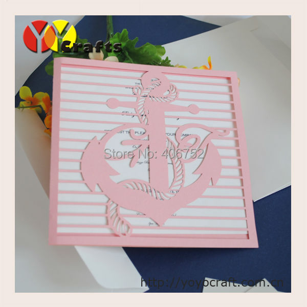Online Get Cheap Nautical Wedding Invitations -Aliexpress.com ...