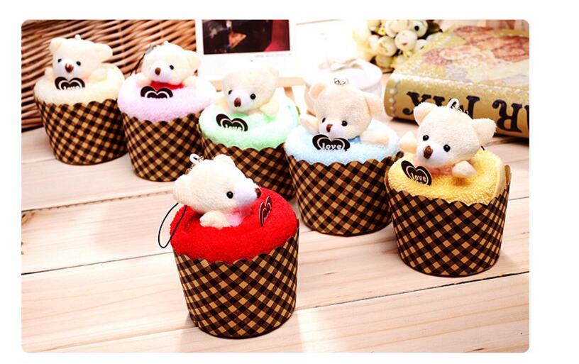 30pcs / lot! Δημιουργικό Lovely Mini Bear Cup - Αρχική υφάσματα - Φωτογραφία 5