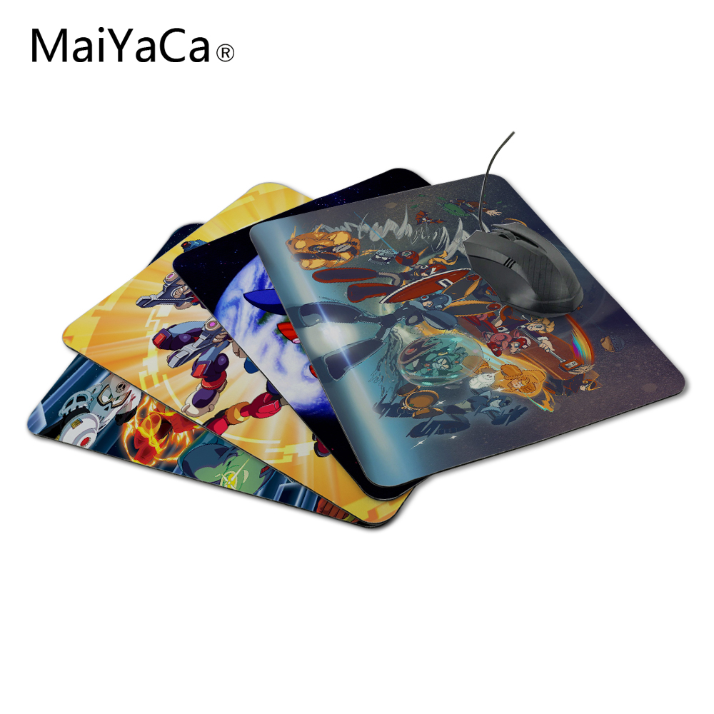 MaiYaCa Mega Man Best Mouse Pad for Size 18*22cm and 25*29cm Not Lockedge MousePad