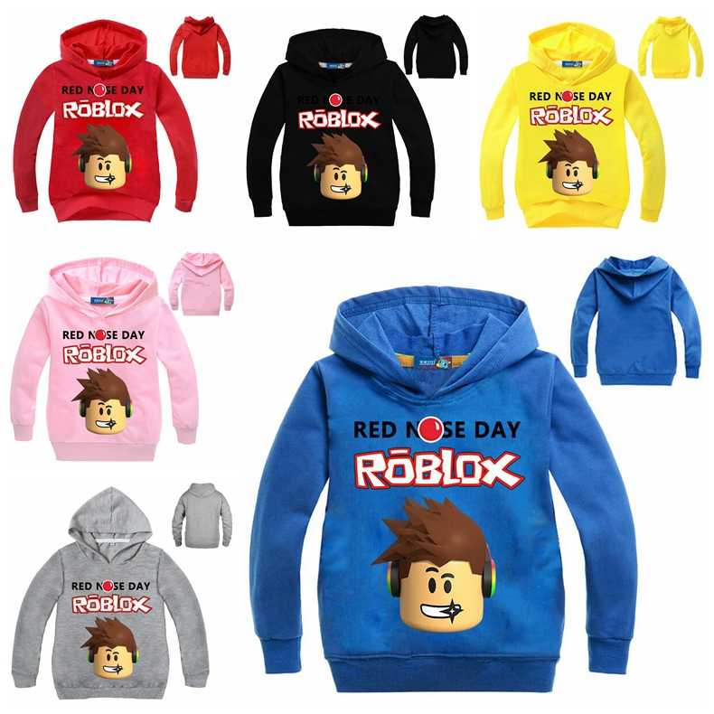 Detail Feedback Questions About Boys Cartoon Roblox Hoodie