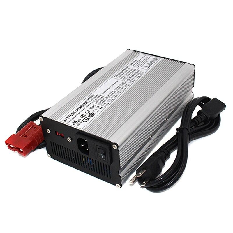 58.8V 10A Charger 51.8V Li-ion Battery Smart Charger Used for 14S 51.8V Li-ion Battery Aluminum shell 25 2v 16a charger 24v li ion battery smart charger used for 6s 24v li ion battery aluminum shell