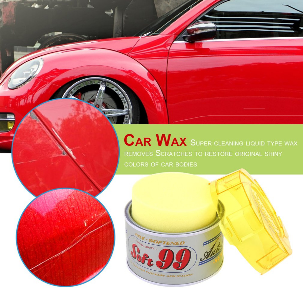 Soft Paste Car Wax Round Polishing Wax Sponge Pad Auto Care Wash Protect Car Coating Scratches Remove Car Paint Repair Hot