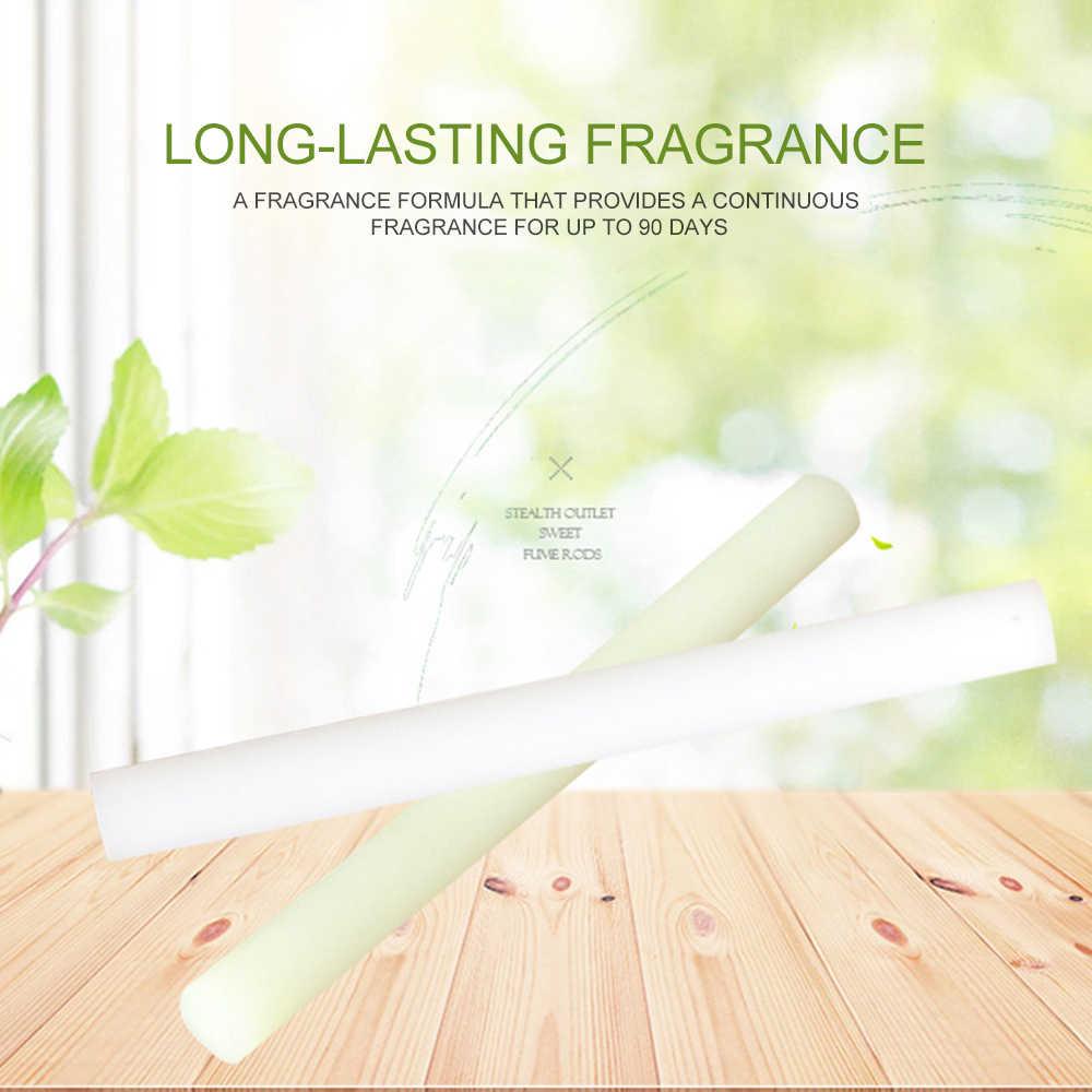 1PC 車の空気清浄香水交換サプリメント固形スティック拡散油用クリップベント香水