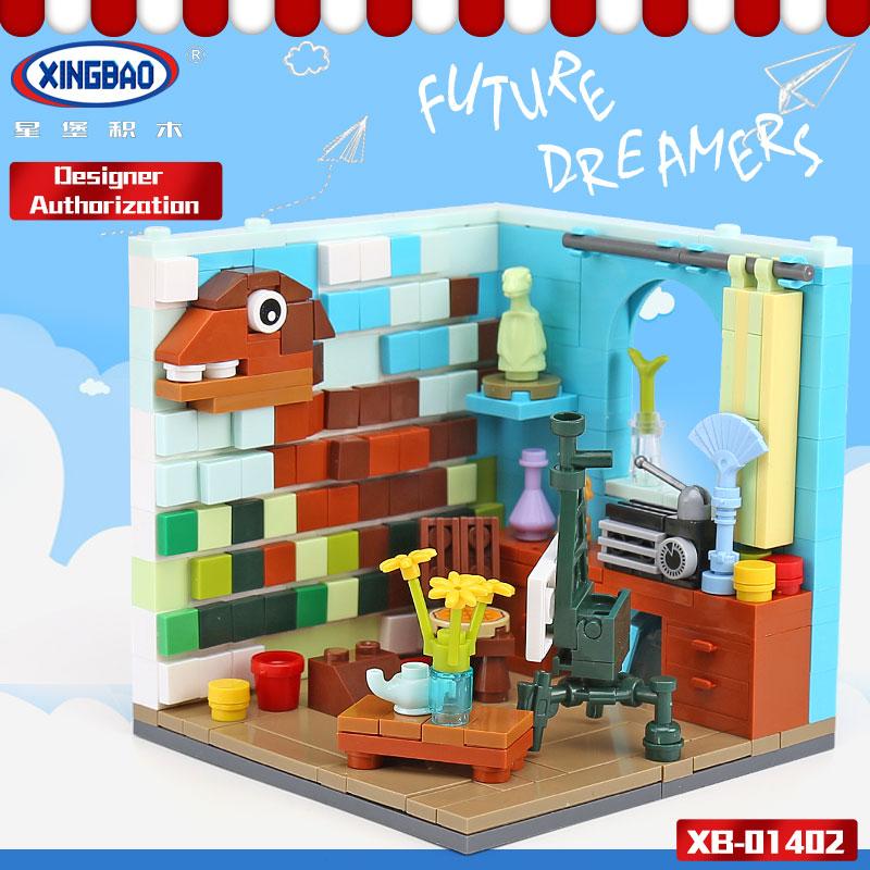 XINGBAO-01402-Genuine-Building-Series-The-Future-Dreams-House-Set-Building-Blocks-Bricks-Educational-Kid-Toys3