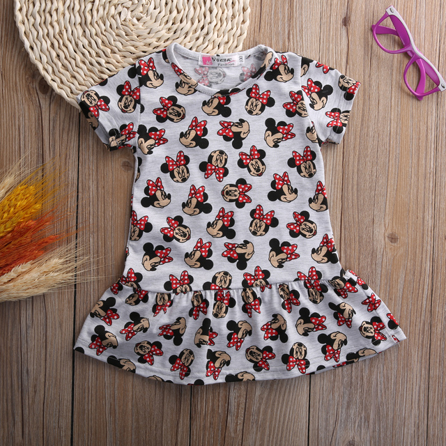 437629be3910d קנו בנות ' בגדים | new fashion Toddler Baby Girls dress cartoon ...