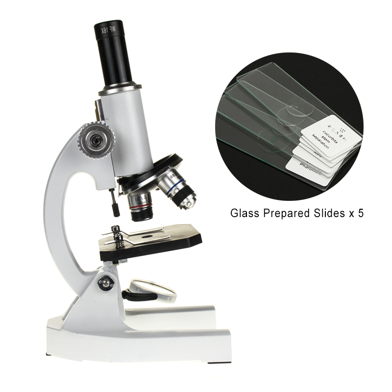 Professional Biological Microscope 64X-1600X Students Educational Science Lab Microscope