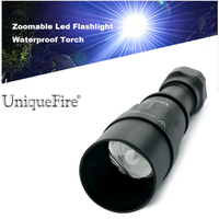 UniqueFire Rechargeable Led Flashlight 1605 T38 XML2 Waterproof 5 Mode 18650 Battery Tactical Hunting Camping