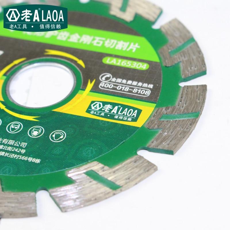 LAOA deimantinio pjūklo deimantiniai šlifavimo diskai betoninio - Ašmenys pjūklams - Nuotrauka 2