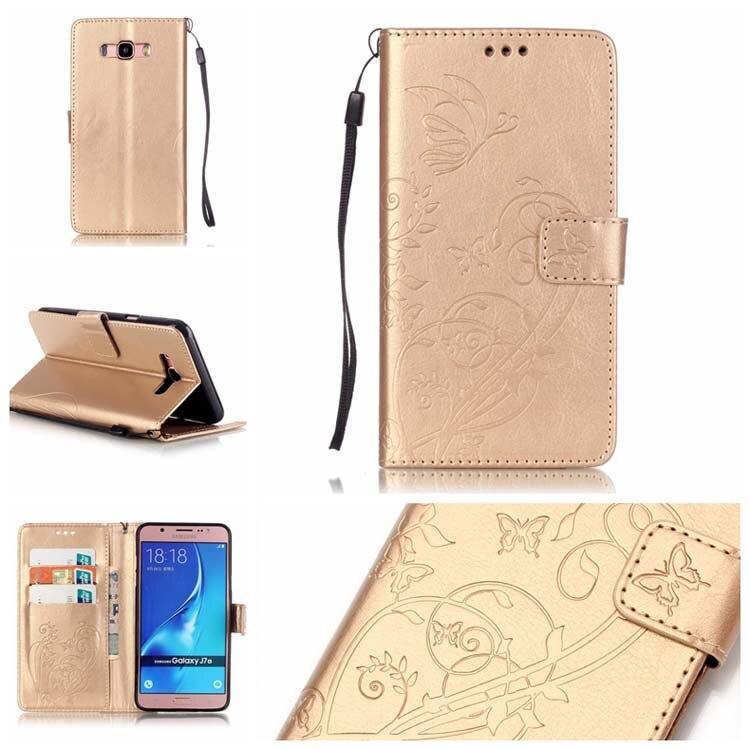 23e4a8c0b6d Flip patrón 3D Bling pu cuero Wallet tarjeta ranura soporte caso cubierta  de parachoques para Samsung Galaxy J7 (2016) j710