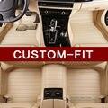 Car floor mats for Lexus J100 LX470 LX 470 J200 LX570 ES250 ES300H ES350 CT200H ES ES350 NX NX300H RX car styling liners rugs